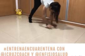 #entrenaencuarentena