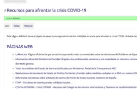 WikiGob - Recursos para afrontar la crisis COVID-19