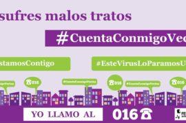 #CuentaConmigoVecina: Vecinos y Vecinas contra la Violencia de Género