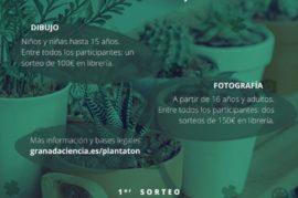 PLANTATÓN: Concurso online de fotografía y dibujo sobre plantas.