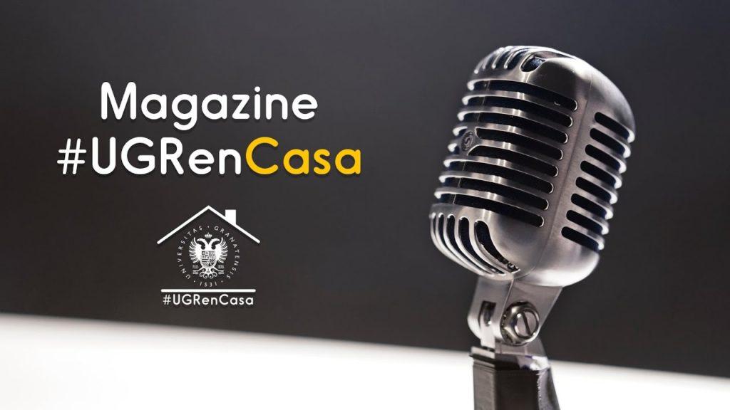 Magazine #UGRenCasa 07 – Docencia, festivales de arte virtual y pandemias históricas