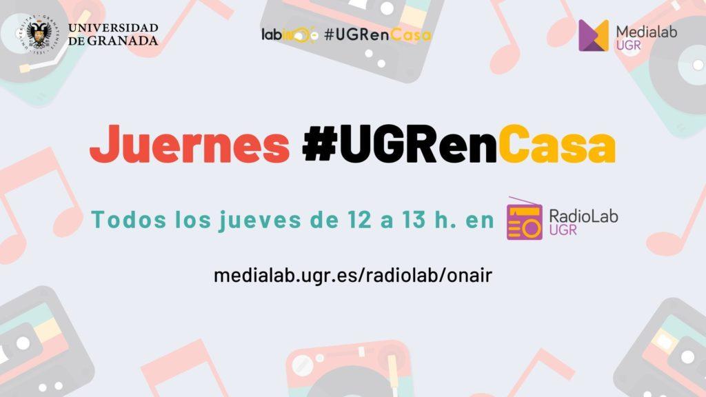 Juernes #UGRenCasa 04 – Portugueses, reencuentros y el curso que viene