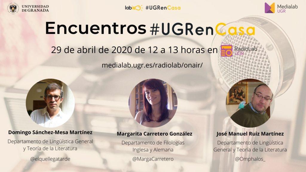 Encuentros Radiolab: #UGRenCasa 08
