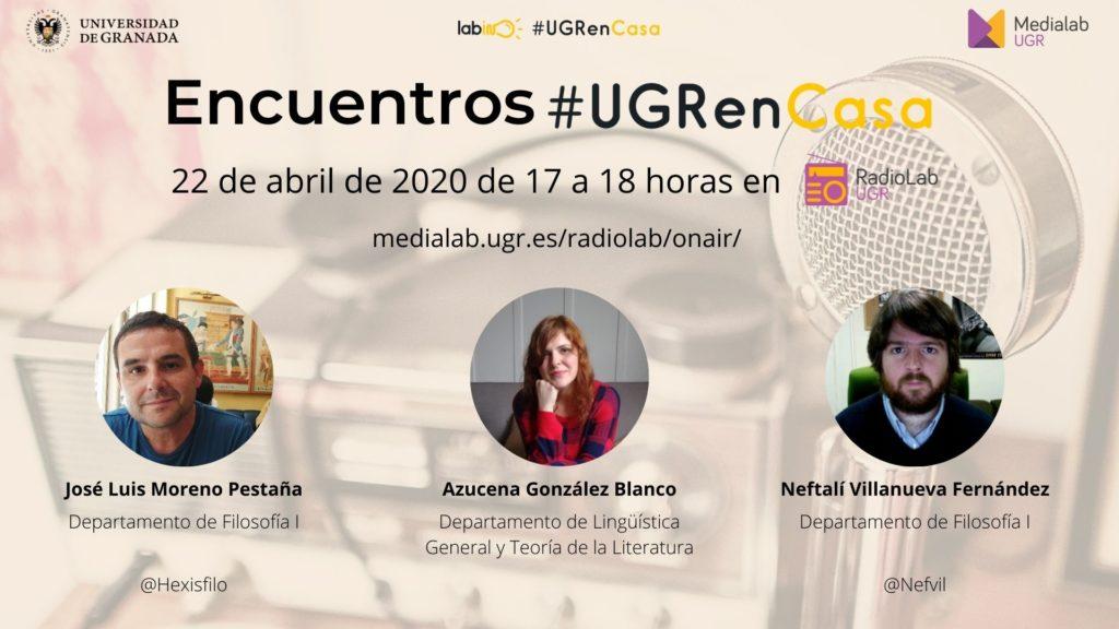 Encuentros RadioLab: #UGRenCasa 06