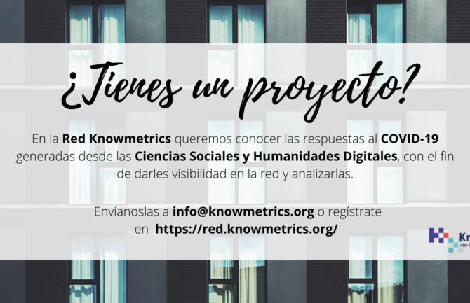 Las Ciencias Sociales y Humanidades Digitales frente al COVID-19