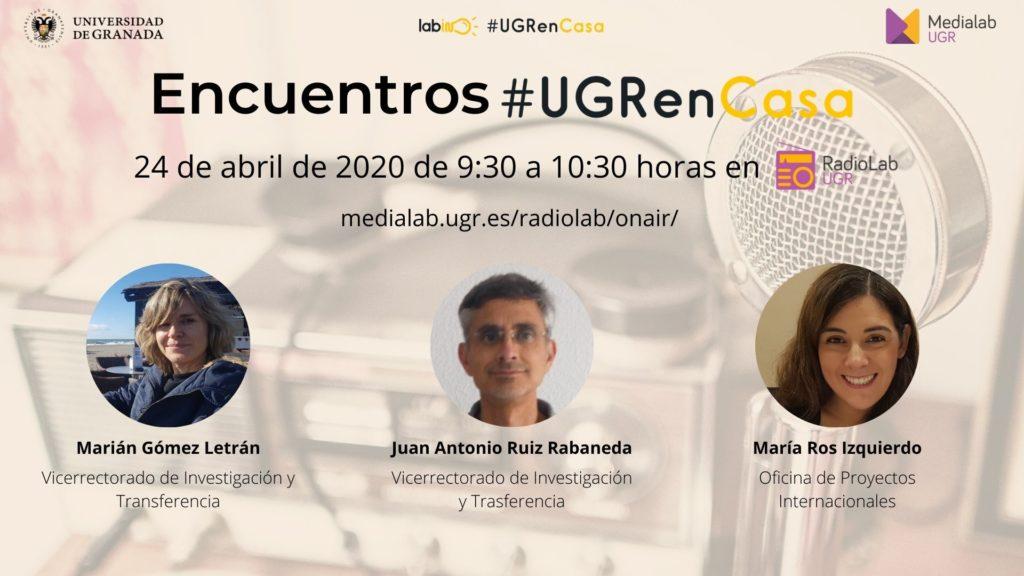 Encuentros Radiolab: #UGRenCasa 07