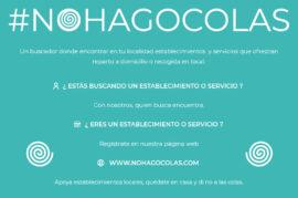 #NOHAGOCOLAS, buscador de PYMES con reparto a domicilio o recogida