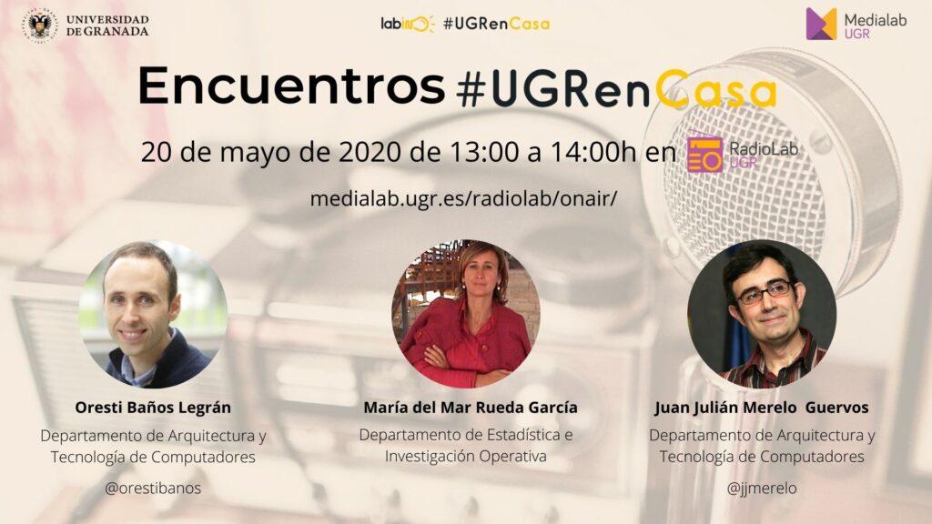 Encuentros Radiolab: #UGRenCasa 10